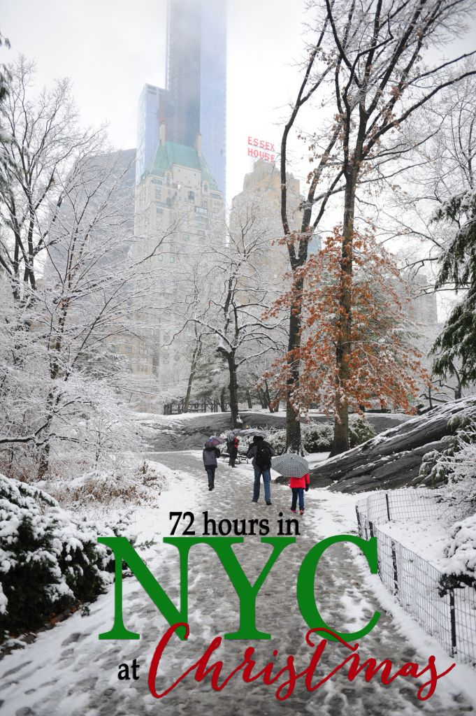 Travel: 72 Hours in New York City at Christmas (with kids) - Entertain | Fun DIY Party Craft Ideas