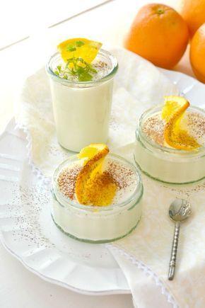 Einfache Rezeptidee für ein leckeres Orangenmousse. Passt zu jeder Jahreszeit und ist kinderleicht aus Saft herzustellen.