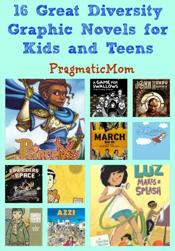 16 Great Diversity Graphic Novels for Kids and Teens :: PragmaticMom
