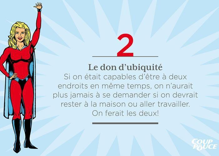 Le don d'ubiquité #maman #superpouvoir