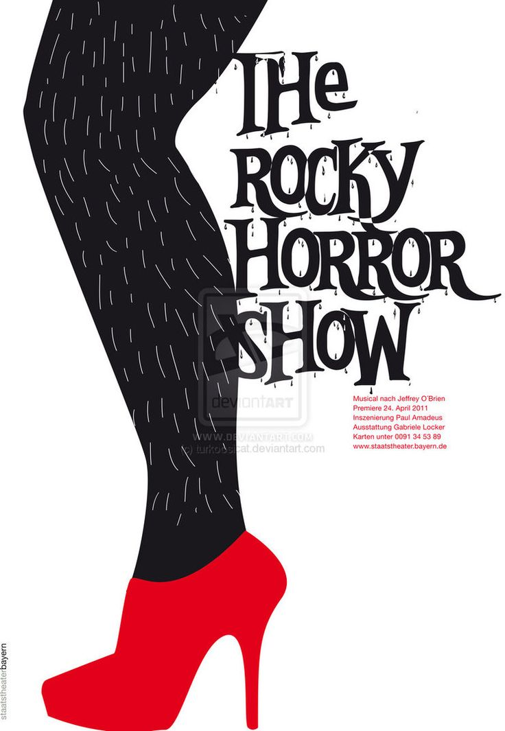 The Rocky Horror Picture Show. #MesDelCine