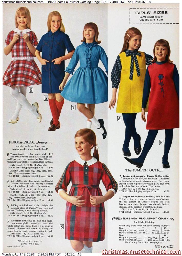 Jumper Size 34 Girl Blue Floral Flannel Modest Winter Jumper