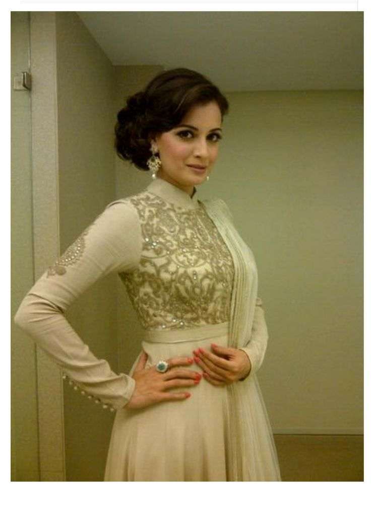 Dia Mirza in a gorgeous Shantanu & Nikhil outfit