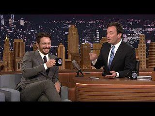 The Tonight Show Starring Jimmy Fallon: James Franco, Chadwick Boseman, Jenny Lewis: 5-Second Summaries with James Franco -- Jimmy and James Franco get a few seconds to summarize movie plots to get each other to guess the title. -- http://www.tvweb.com/shows/the-tonight-show-starring-jimmy-fallon/season-1/james-franco-chadwick-boseman-jenny-lewis--5-second-summaries-with-james-franco