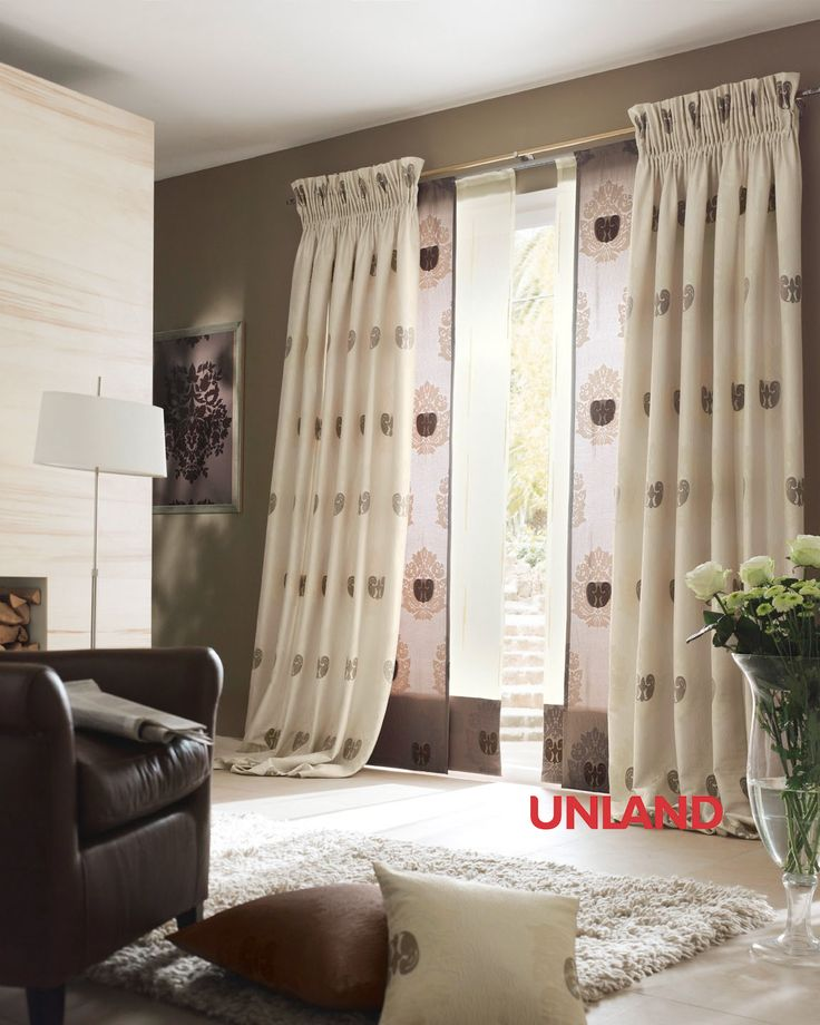 Unland Versailles, Fensterideen, Vorhang, Gardinen und Sonnenschutz - curtains, contract fabrics, pleated blinds, roller blinds and more. Made in Germany