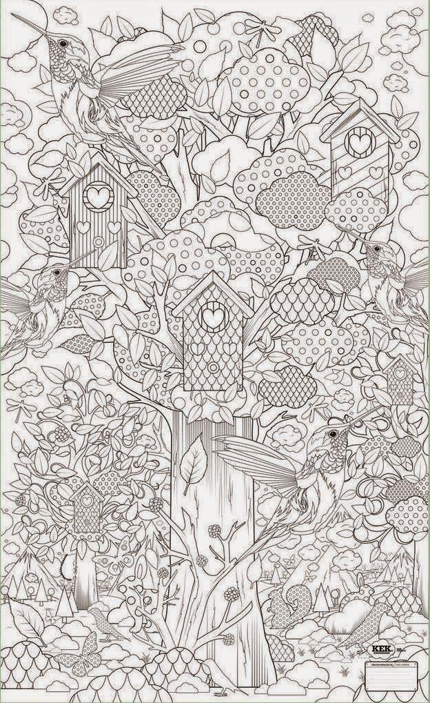 Dorable Colorear Adultos Gratis Ornamento - Dibujos Para Colorear En ...