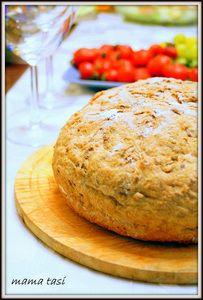 Бездрожжевой хлеб «8 Злаков» на быстрой кефирной закваске.