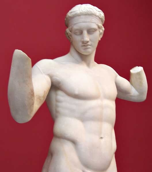 essay diadoumenos polykleitos marble The metropolitan museum's diadoumenos is a marble statue depicting a young man adorning his head with a fillet, or a band, which was common practice in this post, i will explain how polykleitos idealizes human beauty by the use of ideal proportions of the human figure in the diadoumenos.