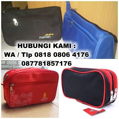 Cosmetic Pouch, Tas Kosmetik, dompet promosi, Tas Toiletries, Toiletries Pouch
