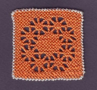 Italian Needlework: Excellent Puncetto Needle Lace Tutorial Online