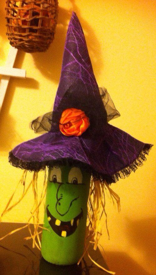 Witch wine bottle on Etsy, $15.00