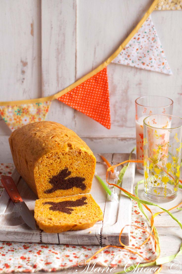 image_print  { Et oui, ça m'arrive aussi de « faire le cake »… }  Carrot-cake « surprise »  ♥ Sans Lait ♥ IG Modéré ♥