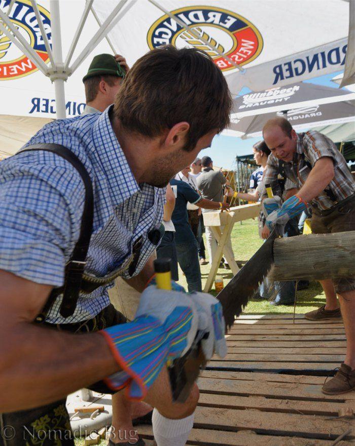 Traditional GERMAN OKTOBERFEST games, Windhoek Oktoberfest, Namibia Nomadic Existence