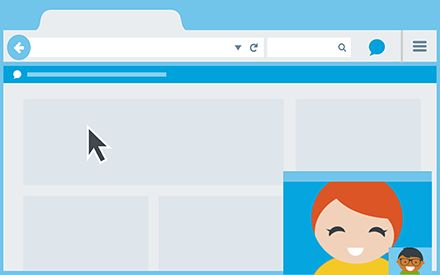 Firefox Hello — Made for sharing the Web.