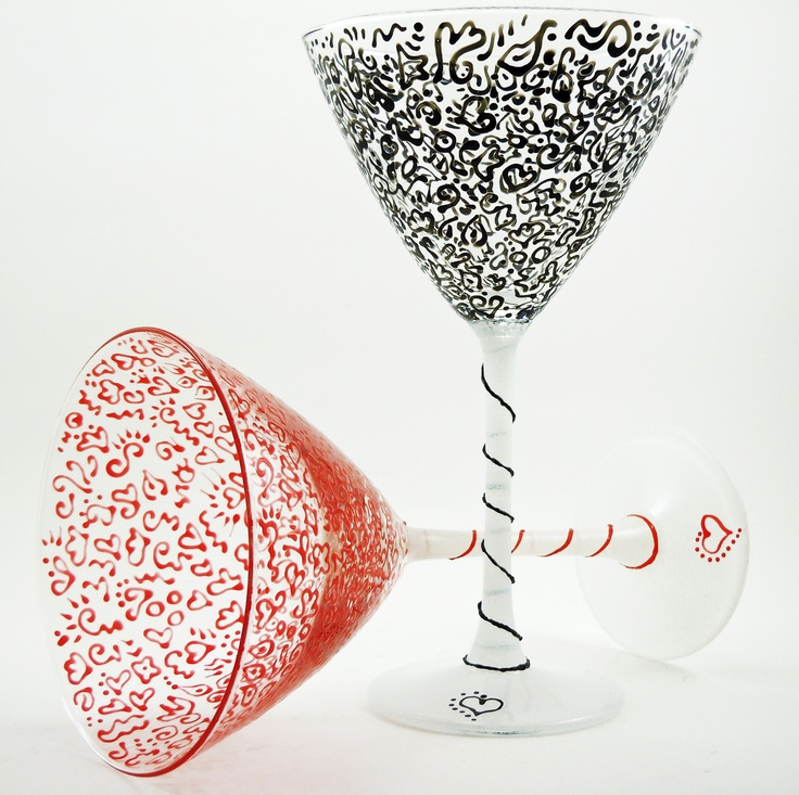 33 best swirl wine glasses images on pinterest wine for Cool wine glass designs