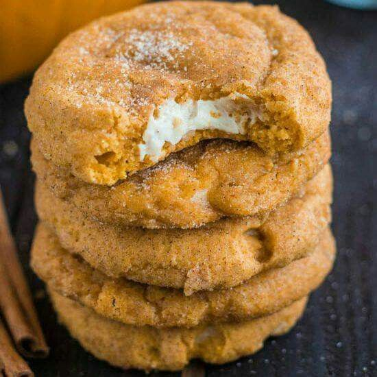 Yumm!  http://therecipecritic.com/2013/09/pumpkin-cheesecake-snickerdoodles/