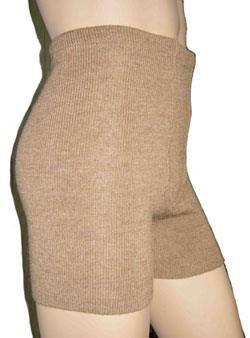 Вязаные шорты из верблюжьей шерсти