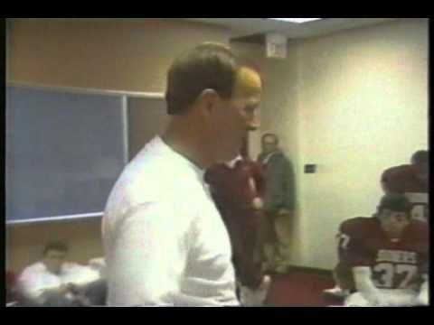 Best pre-game speeches of all-time. Period. The King-Barry Switzer.