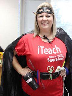 Enough Said! Teachers are the best superhero! Halloween ideas for teachers