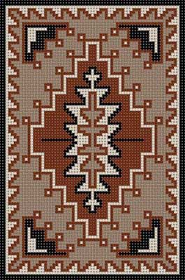 Native American x-stitch