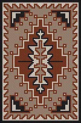 Native American x-stitch