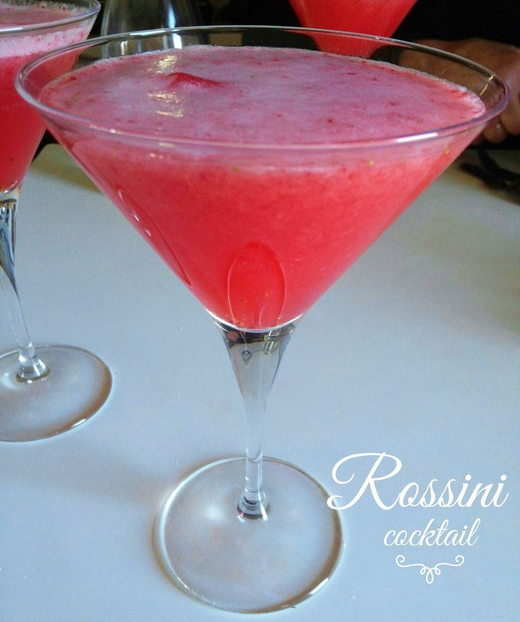 Cocktail Rossini - ricetta