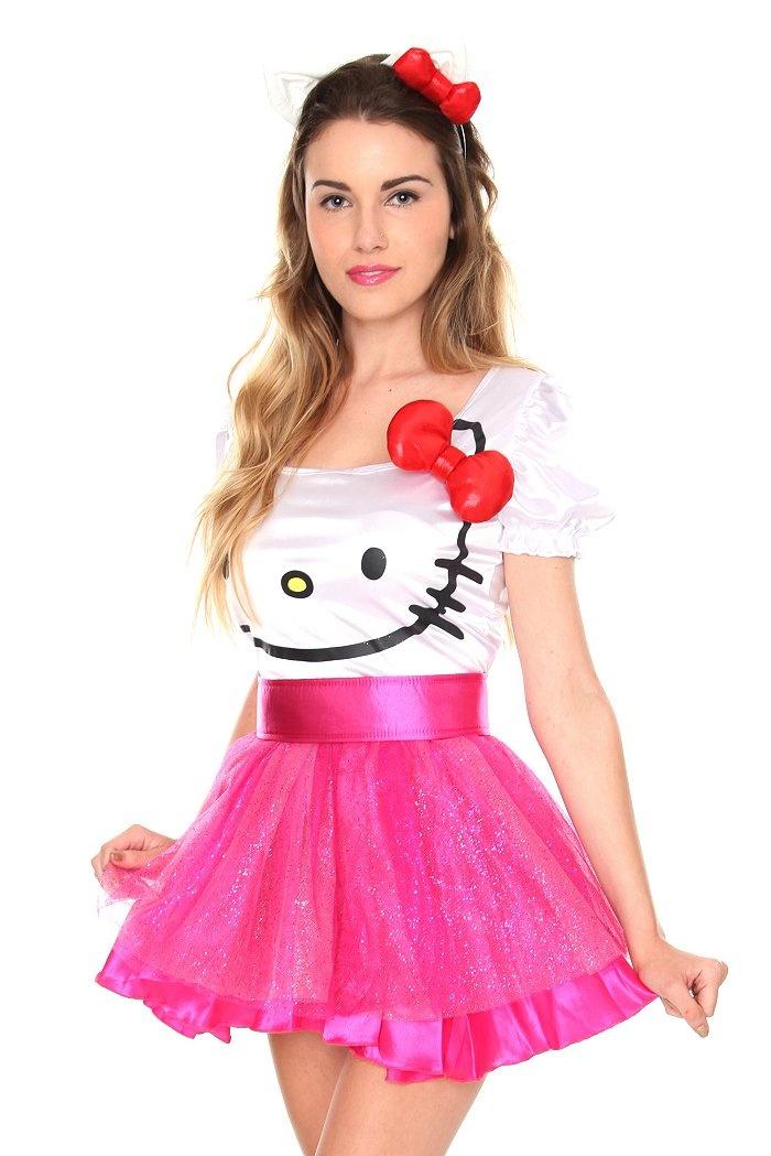 hello kitty costume 60 - Halloween Hello Kitty Costume