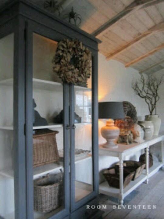 25 beste idee n over blauw grijze keukens op pinterest droomkeukens en grijze keukenwerkbladen - Keuken rustieke grijze ...