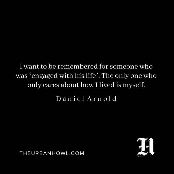 Daniel Arnold - The Urban Howl