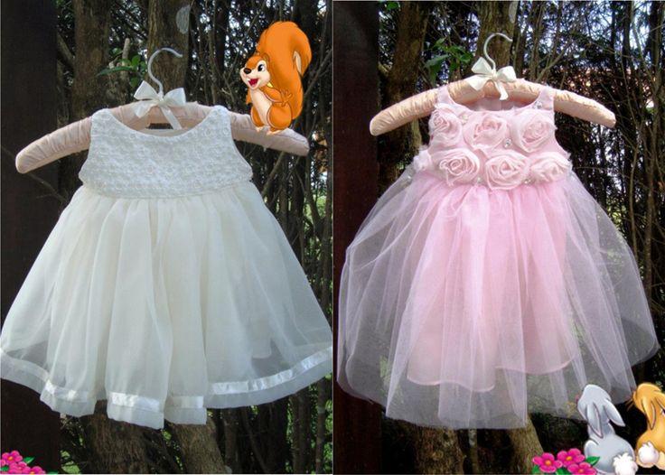 vestido para bebê 1 ano