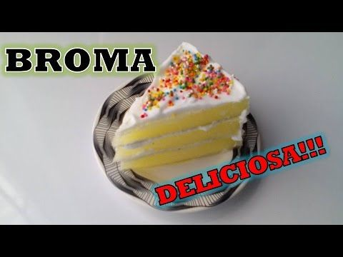 Broma: Pastel Falso!!! - YouTube #broma #pranks #funny