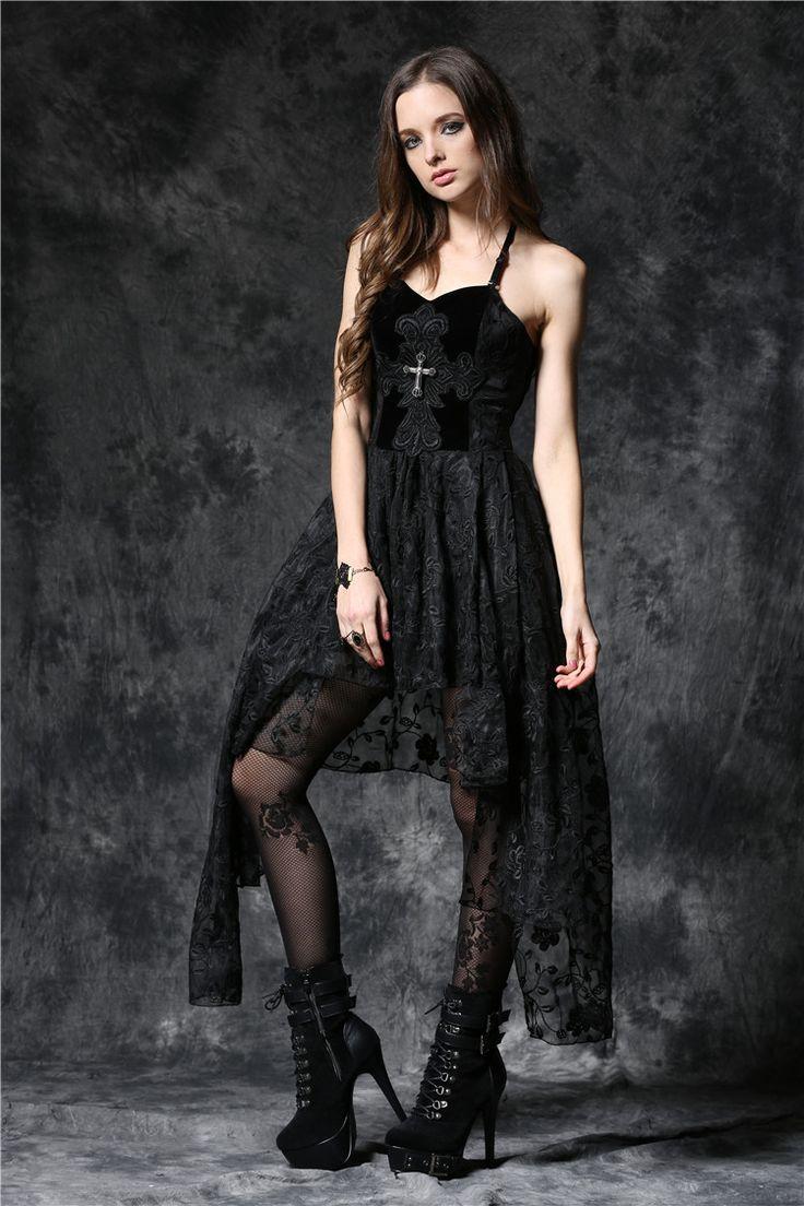 photo n°4 : Robe gothique noire DARK IN LOVE