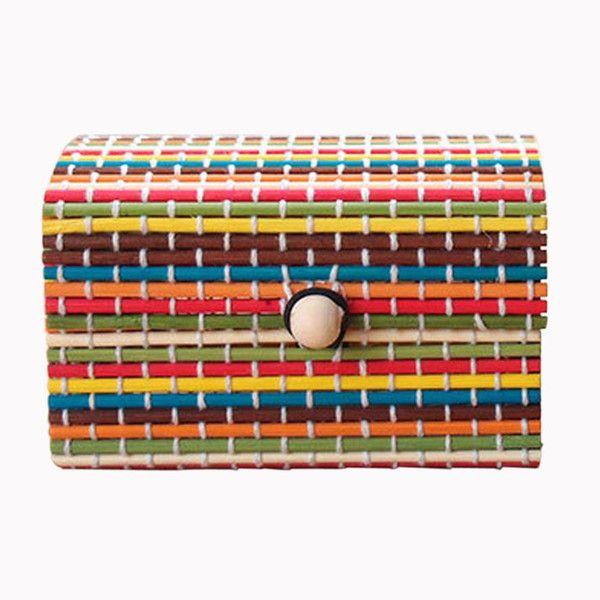 Bamboo Jewelry Storage Box