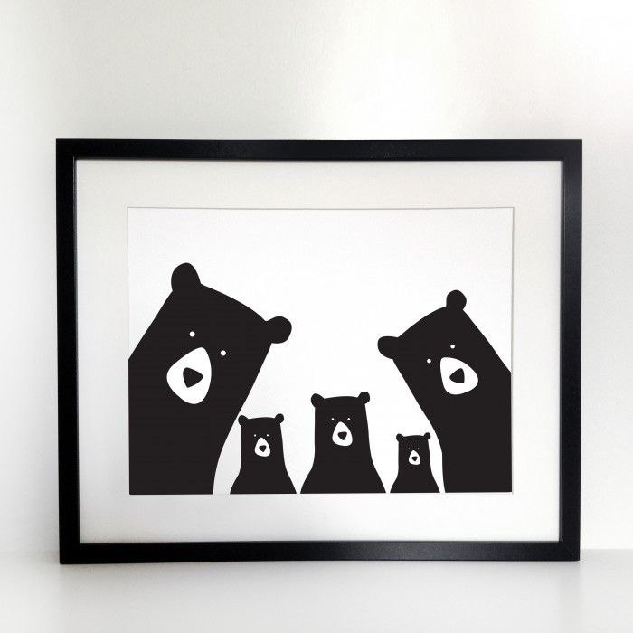 Family Bear Portrait