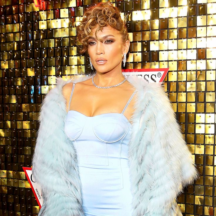 Jennifer Lopez at the Guess Spring 2018 Campaign Reveal starring Jennifer Lopez on January 31, 2018 in Los Angeles, California.