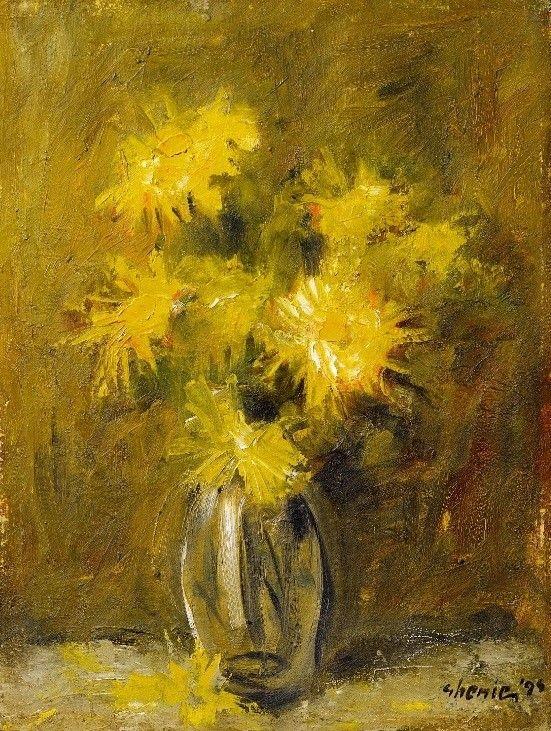 Adrian Ghenie (n. 1977) Flori/ Flowers