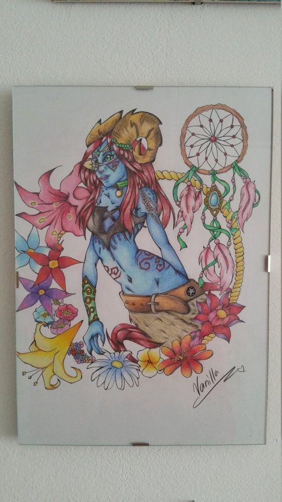 Sieh dir dieses Produkt an in meinem Etsy-Shop https://www.etsy.com/de/listing/460430470/original-traditional-artwork