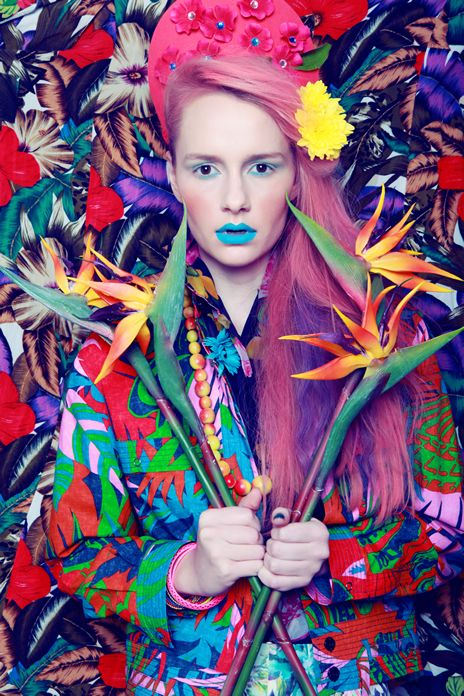 ❀ Flower Maiden Fantasy ❀ beautiful photography of women and flowers - The Power of Flowers Fashion Photoshoot Publish on Perfecto Magazine