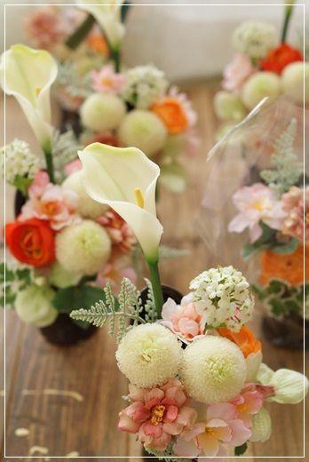 【今日の贈花】この夏一番人気『枯れない供花』♪ Flower note の 花日記 (横浜・上大岡 アレンジメント教室)