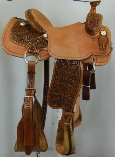 New 14 5 Quot Circle Y Saddlery Xp Celeste Team Roping Saddle