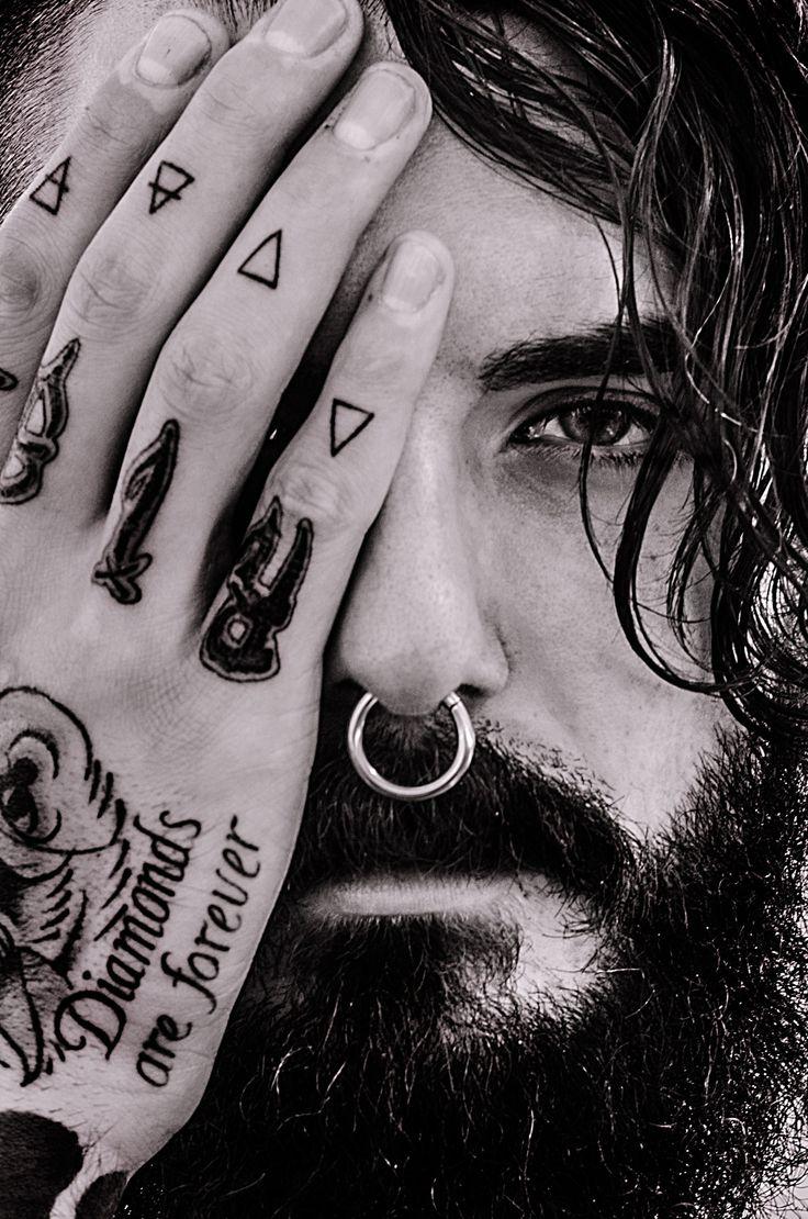 Untitled by Sonia Diaz on 500px #beard #beards #bearded #man #tattoed #tatto #tattos #tatuajes #blancoynegro #blackandwhiten #barcelona #bcn #fotografo #photographer