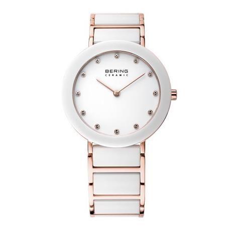 Reloj señora BERING Ceramic Collection. Acero inoxidable oro rosado Antes 229€ AHORA 160€