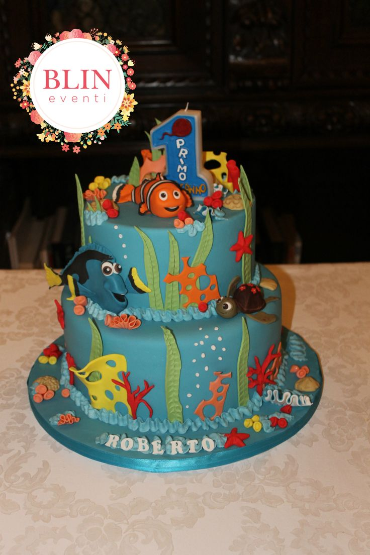 Nemo Party - cake by Blin Eventi http://www.blineventi.it/