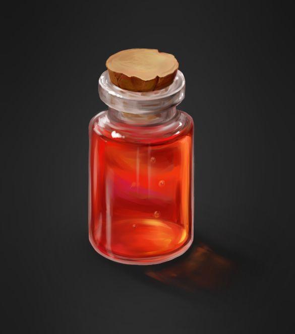 bottle by W-Violett-D