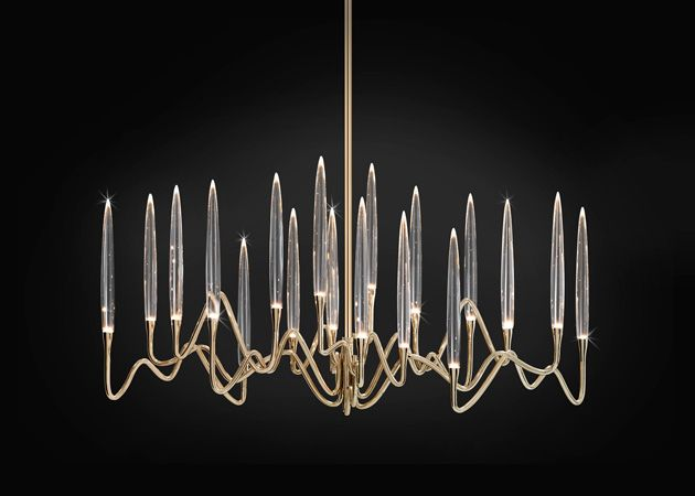 17 best il pezzo 3 long chandelier images on pinterest chandeliers il pezzo 3 long chandelier 103 cm405 gold finish aloadofball