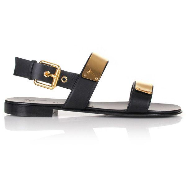 Giuseppe Zanotti Zak Bar Sandals (18,840 EGP) ❤ liked on Polyvore featuring men's fashion, men's shoes, men's sandals, mens shoes, mens sandals, mens black shoes, giuseppe zanotti mens shoes and mens black sandals