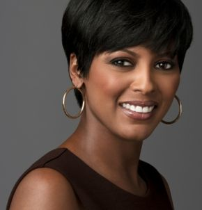 Tamron Hall's hair is amazing...love it!