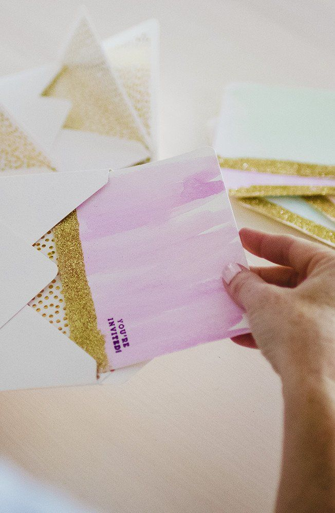 Diy Watercolor Invitations For Your Party Watercolor Invitations