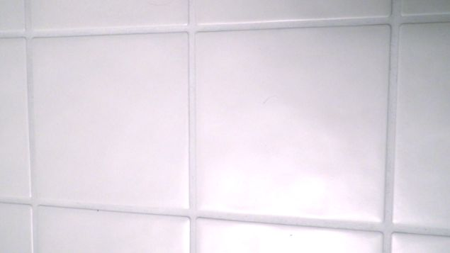 DIY::Cleaning Bathroom Tile Grout ! Make Your Grout sparkling clean without  all the scrubbing & time consuming effort! by simply using this two ingredient Homemade Cleaner !