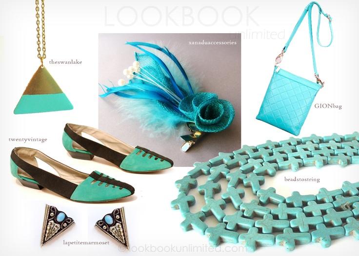 Lookbook Unlimited: Turquoise AccessoriesTurquoise Accessories, Turquois Accessories